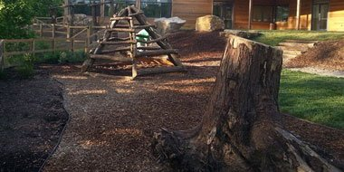 Natural Organic Playground by Terrill Landscape